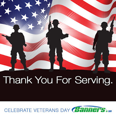 Happy Veterans Day from Banners.com