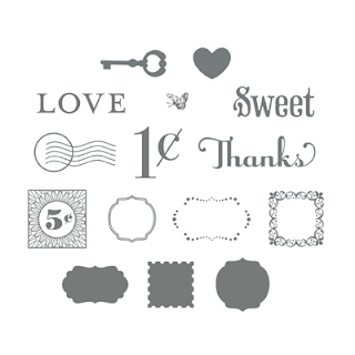 Lovely Little Labels Kit - Stampin' Up!