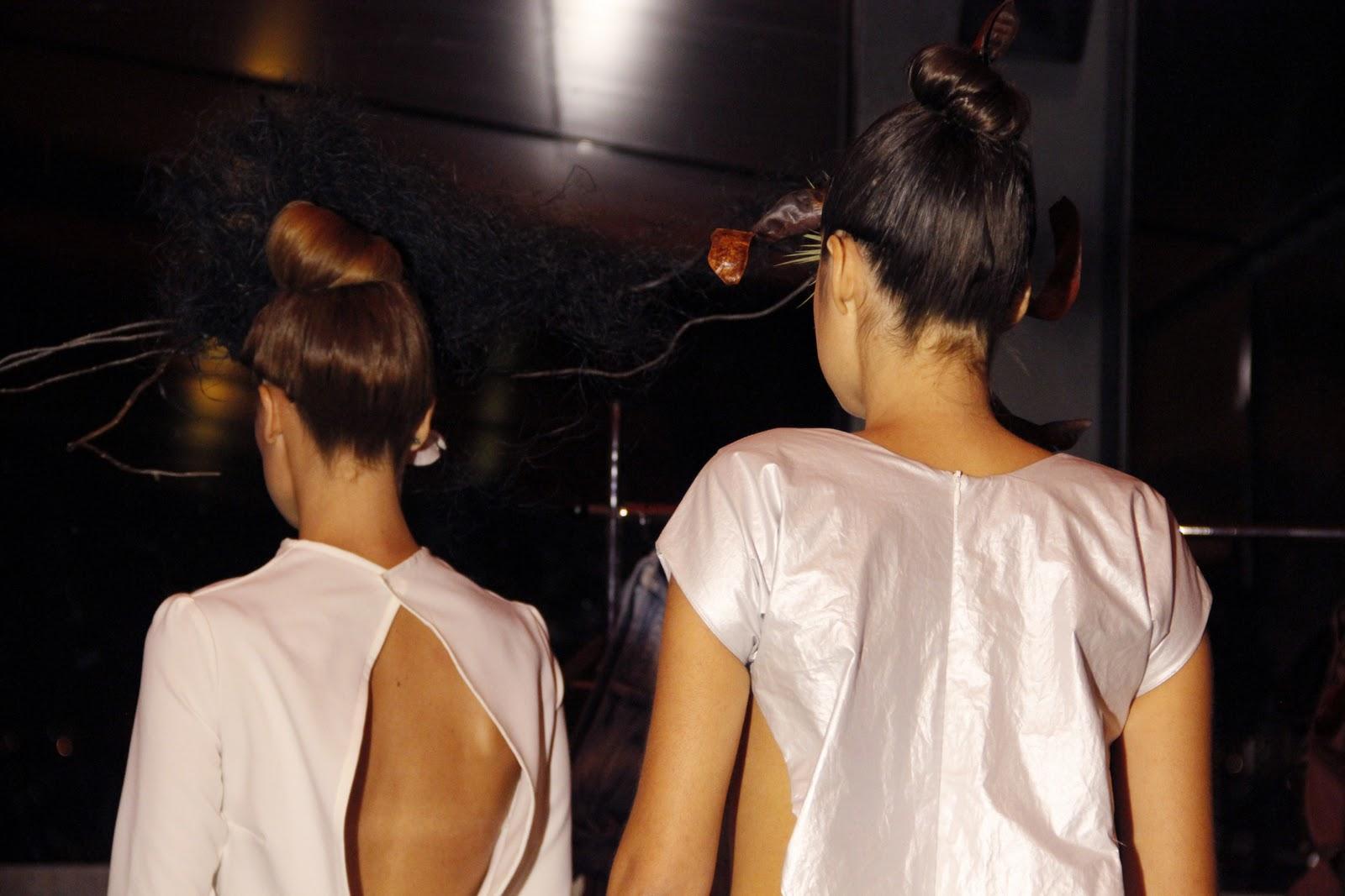 Ocho dioptrías: Backstage del desfile de Esther Sancho. Anatomía de ...