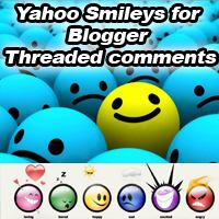 Yahoo smileys for Blogger Threaded Comments