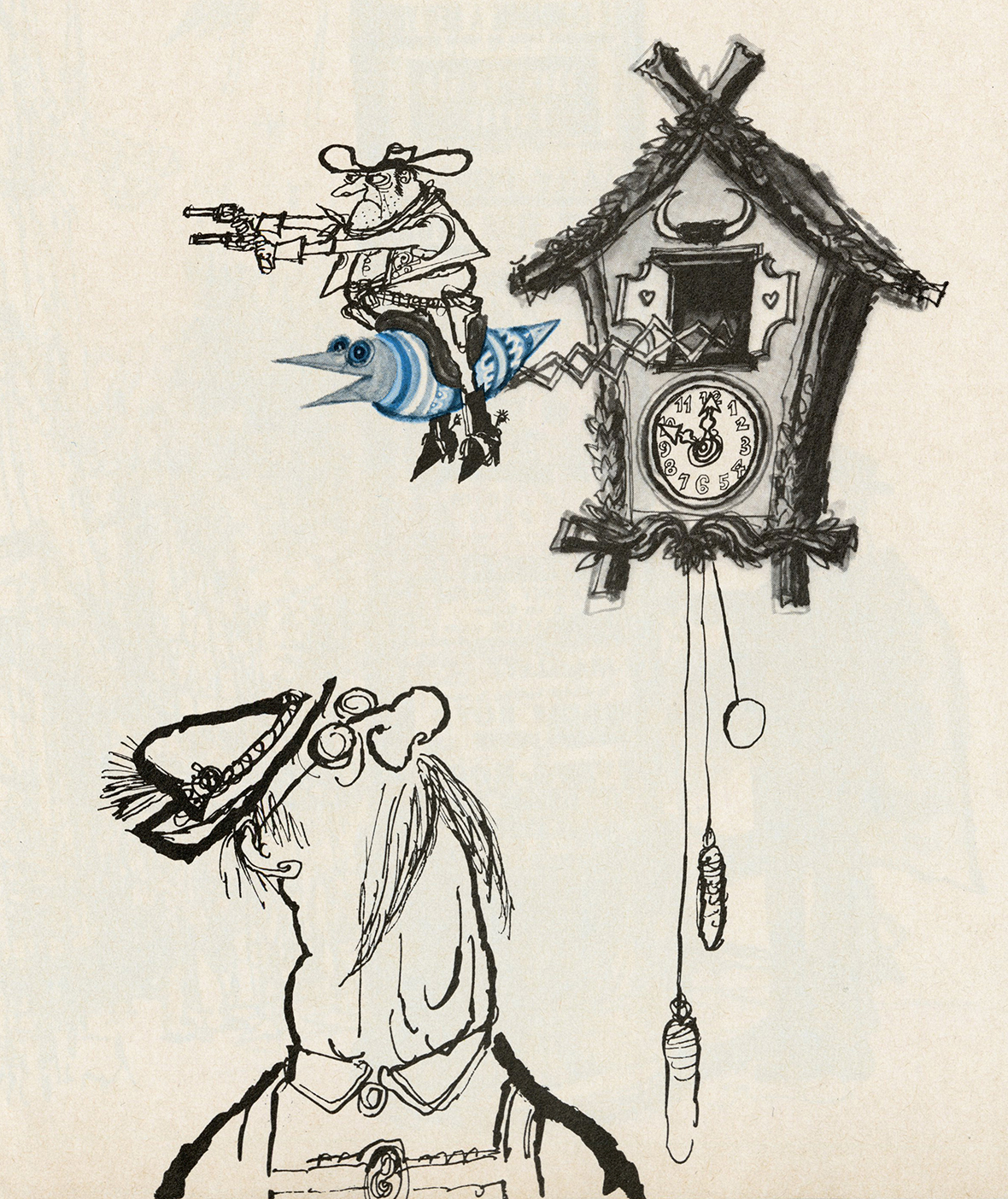 Displaying 19> Imag... Cuckoo Clock Drawing