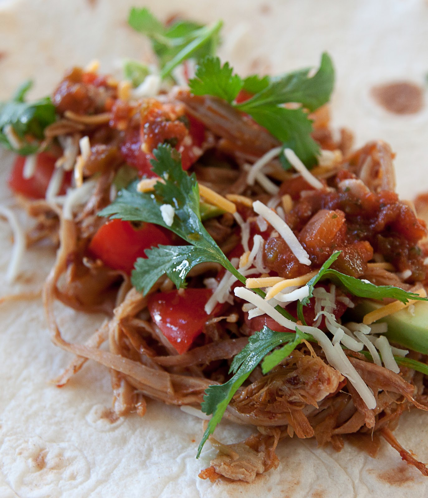Road Ready with Spicy Pulled Pork Tacos