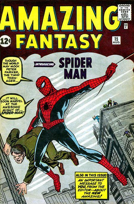 10 Kostum Spider-Man Terbaik Sepanjang Masa: Original Suit