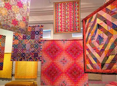 Kaffe Fassett Quilt Exhibition - Welsh Quilt Centre, Lampeter, 2013