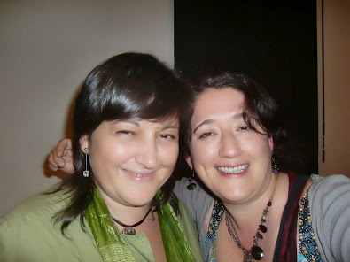 Con Laura Caro en Alcalá de Henares
