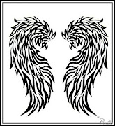 Tatuajes de alas COMPLETISIMO ~ Fotos de Tatuajes alas de dragones