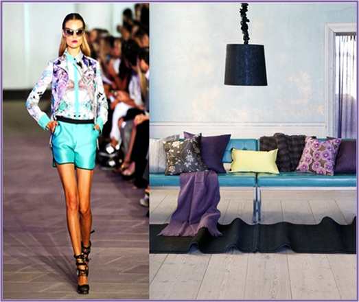 Friday's Runway Decorate-Week 13 Purple and Turquoise | Design ...