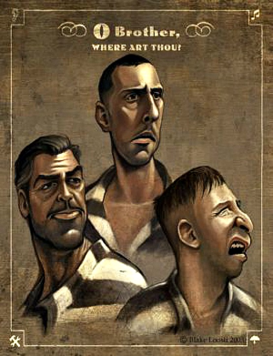 O Brother Where Art Thou movie posters at movie poster