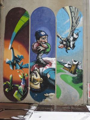 Streetart, Graffiti, Loomit, Kunstpark Ost