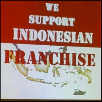 We Support Indonesian Franchise