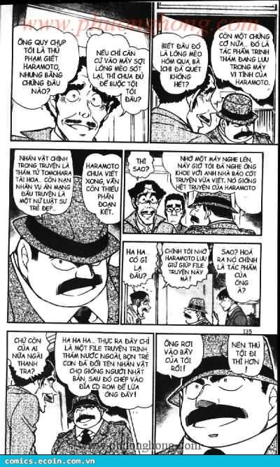 Detective Conan - Thám Tử Lừng Danh Conan chap 540 page 15 - IZTruyenTranh.com