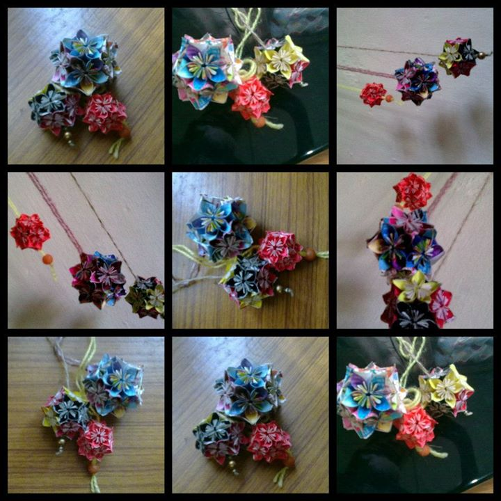 Since I Am Very Bad In Giving Instructions So Here Is A Helpful Link To Make This Craft Origami Kusudama Flower
