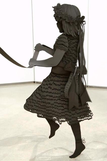 Life Size Paper Cut Maypole - Stunning
