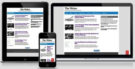 The Writer - Responsive Blogger Template for Writer & Journalist!