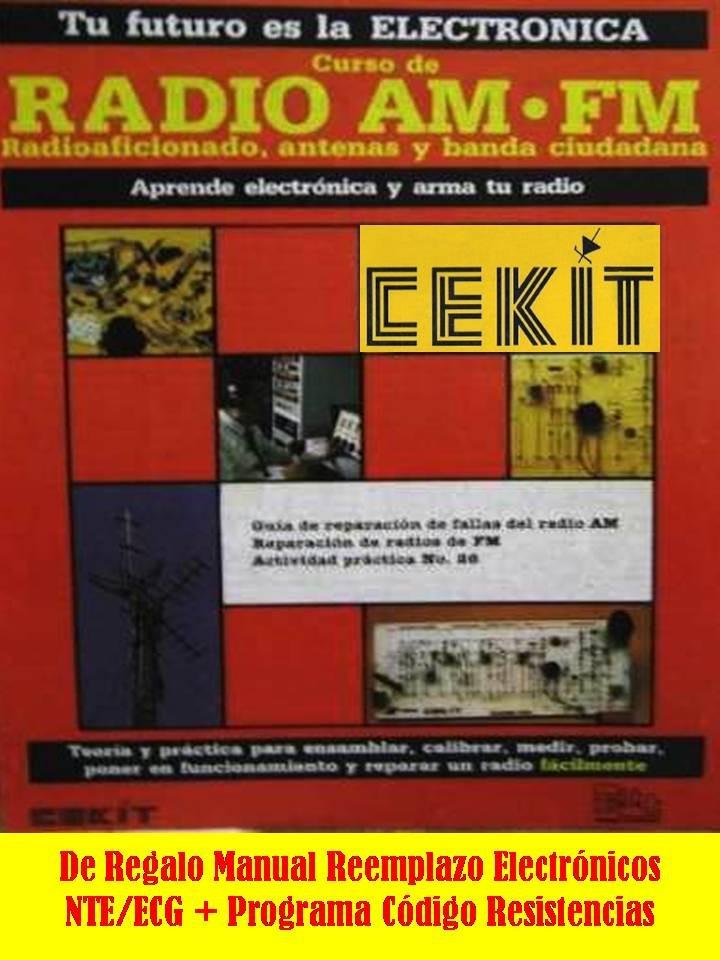 Cekit Curso Completo Electrónica Radio Am-fm + Regalos