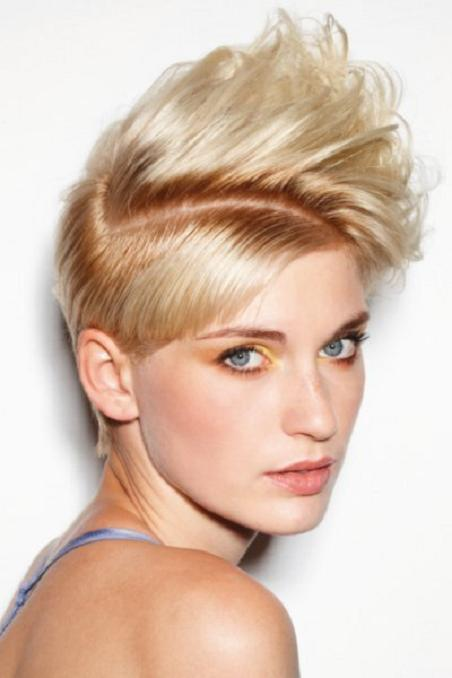 MEDIUM HAIRCUTS WITH BANGS Funky short hairstyles