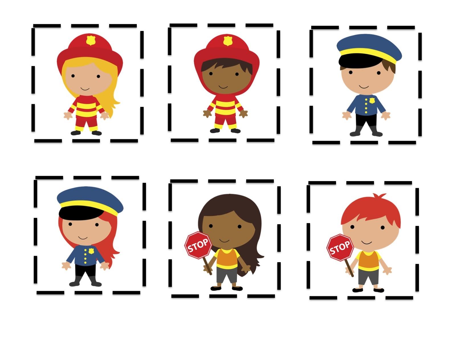 Kindergarten Community Helpers Pictures to Pin on Pinterest