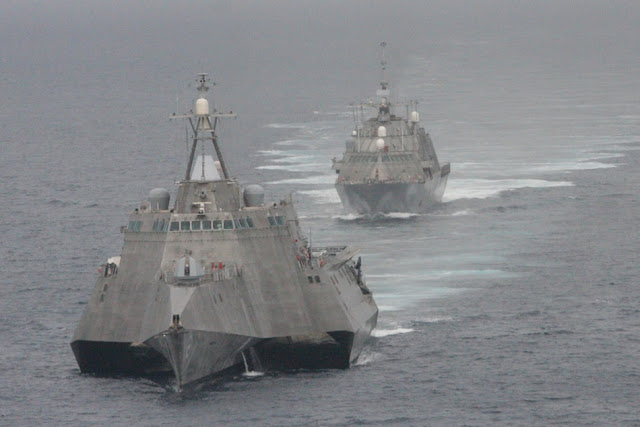 USS Freedom (LCS 1) and USS Independence (LCS 2)