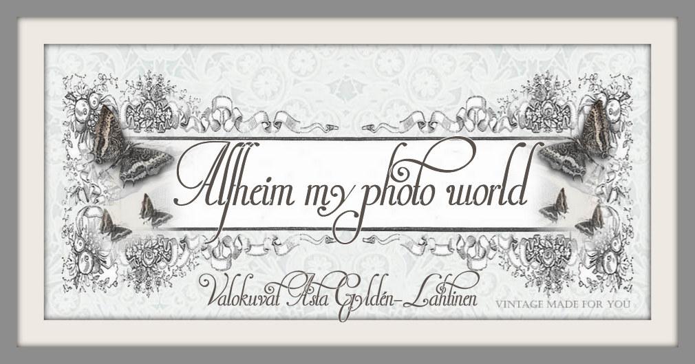Alfheim valokuvamaailmani/ My photo world