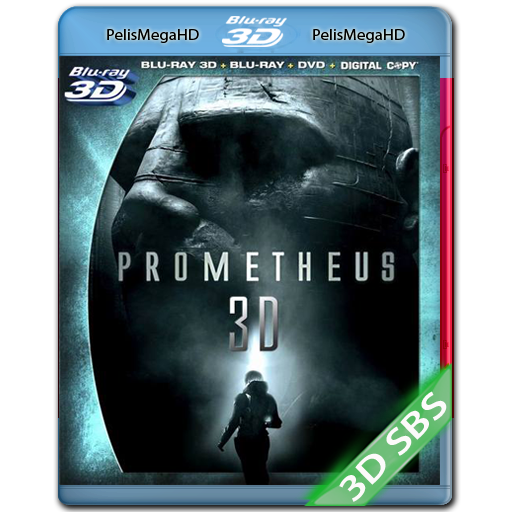 PROMETHEUS (2012) 3D SBS 1080P HD MKV ESPAÑOL LATINO