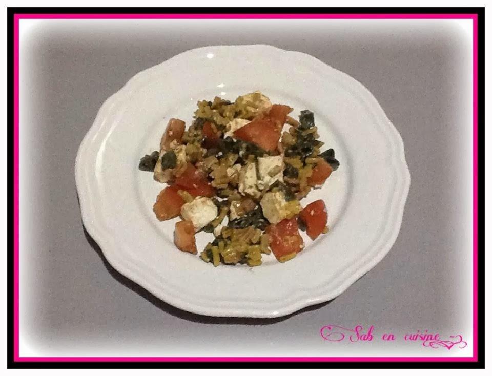 sab en cuisine recettes faciles salade de p 226 tes tomate et feta