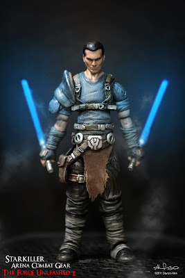 Starkiller50 Star Wars custom action figures by Dayton Allen