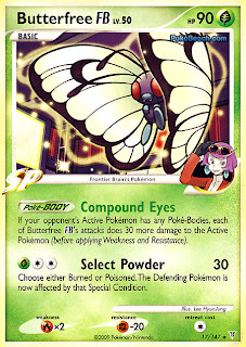 Butterfree FB Pokemon Card Supreme Victors set
