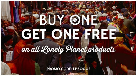 Code promo Lonely Planet