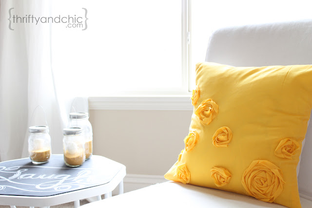Rosette Pillow Tutorial
