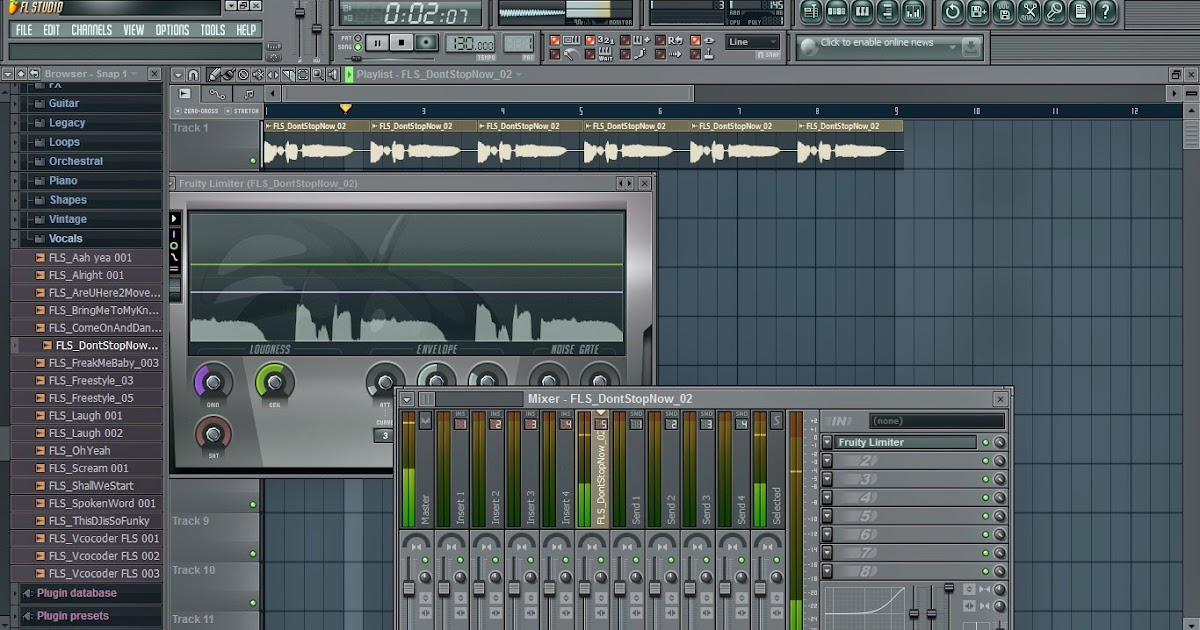b>FL STUDIO TUTORIAL ON HOW TO REMOVE MIC BACK GROUND NOISE</b