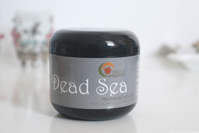 Maple Holistics Dead Sea Mineral Youth