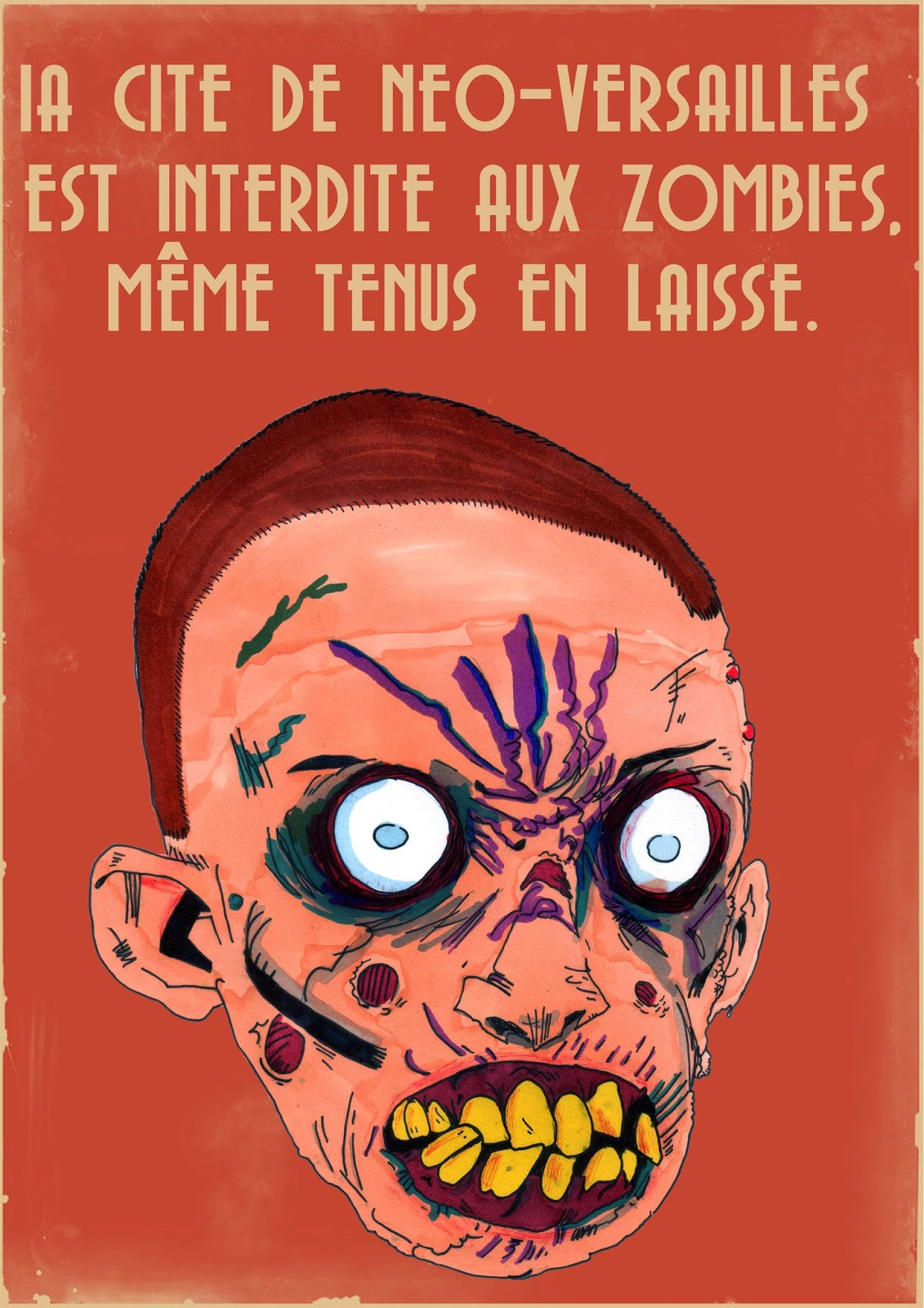 Affiches de propagandes de Neo-Versailles par The Terror Geek Neoversailles5