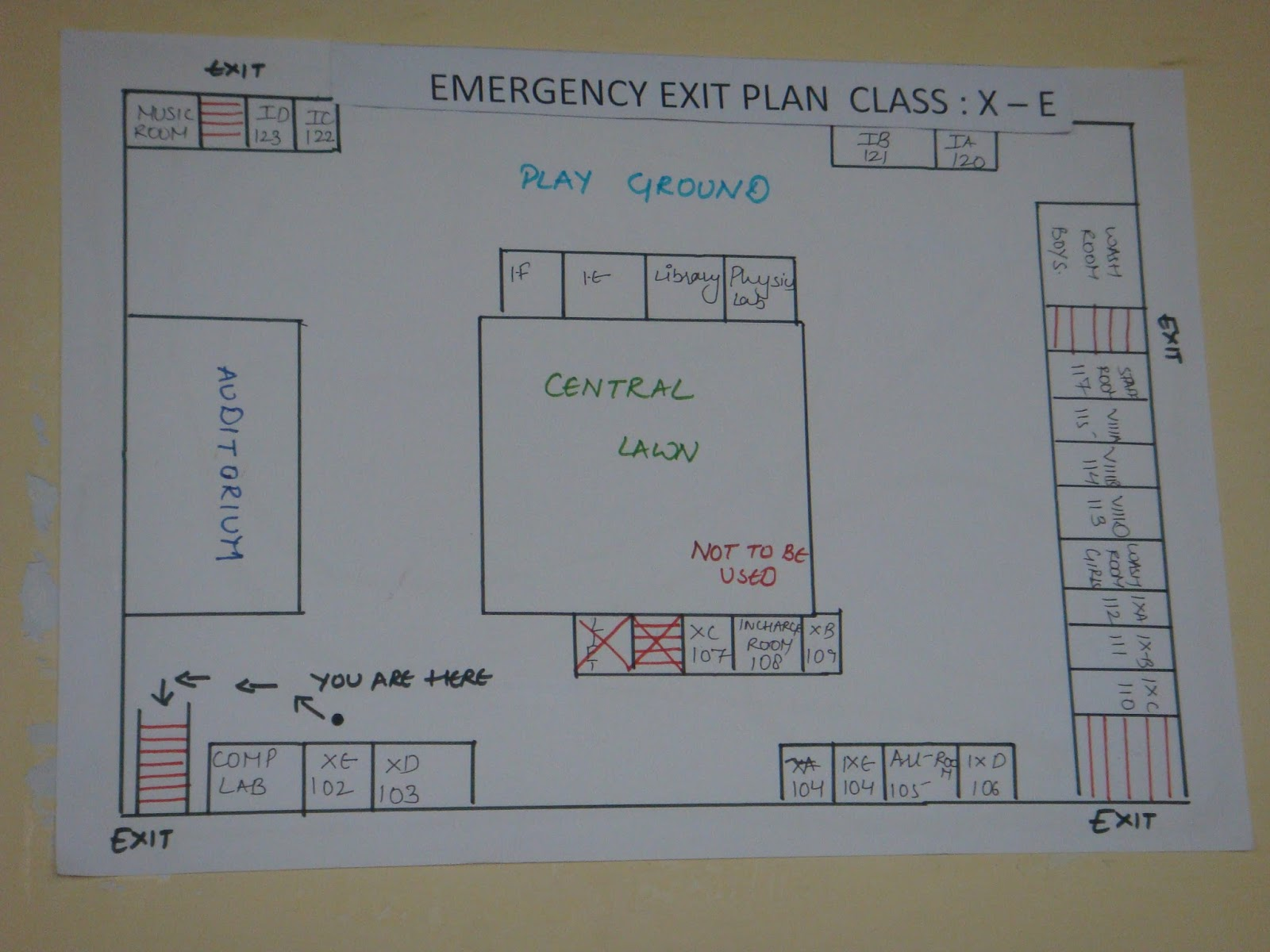 School Exit Plan Diagram - Data Wiring Diagrams •