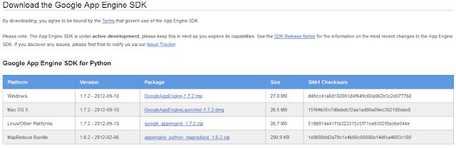 Google App Engine SDK for Python
