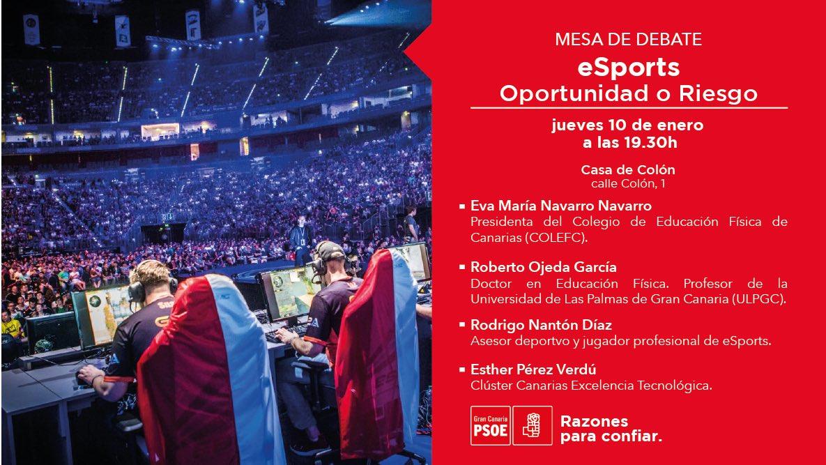"""MESA DE DEBATE eSport """"Oportunidad o Riesgo"""""""