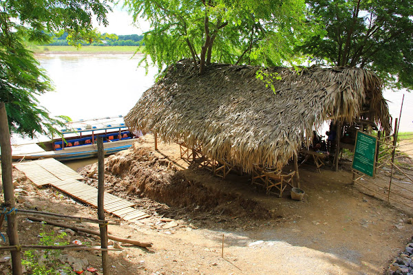 Barco desde Sagaing hasta Ava