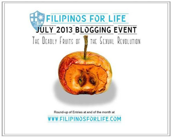 July 2013 blogging event of Filipinos for Life