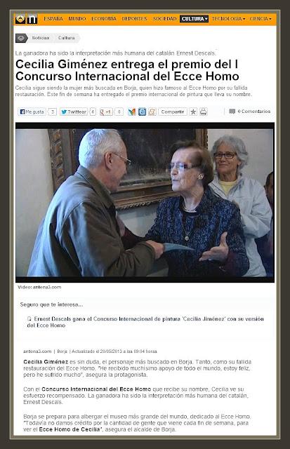 CONCURSO-PINTURA-INTERNACIONAL-CECILIA GIMENEZ-NOTICIAS-PINTOR-ERNEST DESCALS-VIDEOS-ANTENA3-TELEVISION