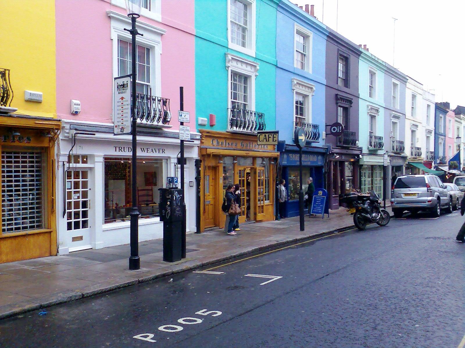 A p scribbles portobello road london - Boutique vintage londres ...
