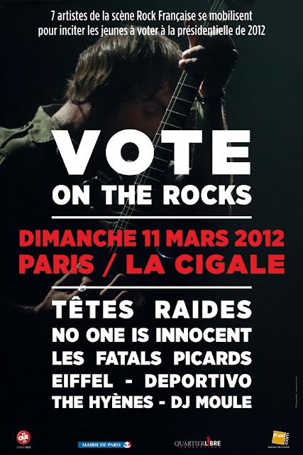 Vote on the Rocks