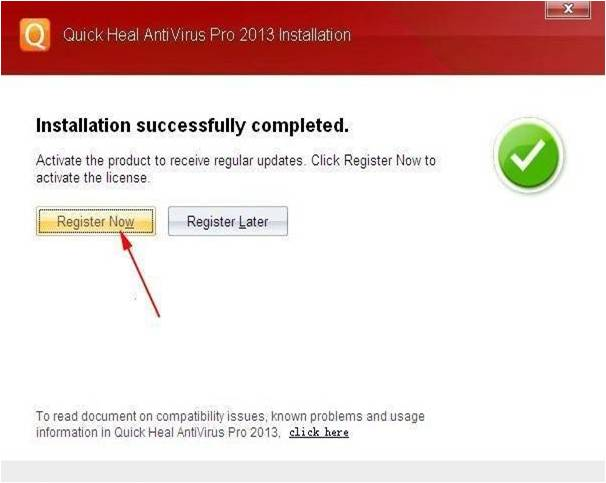Quick Heal AntiVirus Pro 2013 With 4 Months Product Key