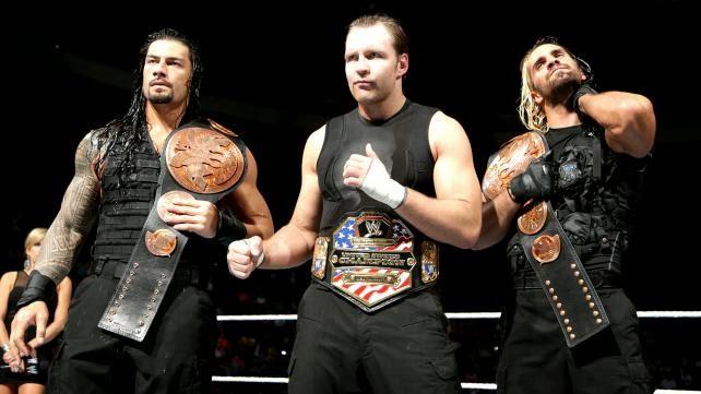 Roman Reigns Vs Dean Ambrose Vs Seth Rollins