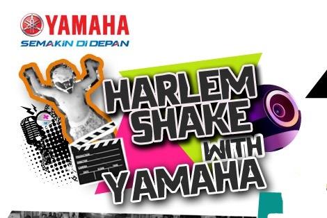 Harlem Shake With Yamaha, Berhadiah Mio GT Bro!