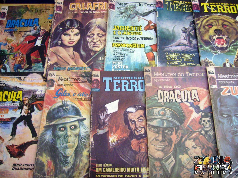 ZONA FRANCA COMICS: LOTE DE REVISTAS CALAFRIO E MESTRE DO ...