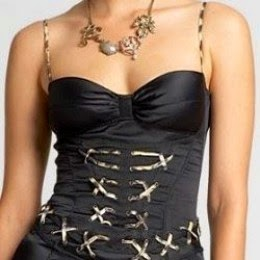 Corset Bustier Dress by Just Cavali