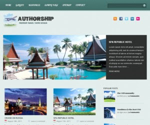 AuthorShip WordPress Theme