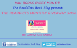 The Readdicts Monthly Giveaway 2016