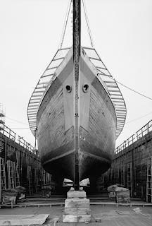 Documentary photographs of historic lumber schooner Wawona