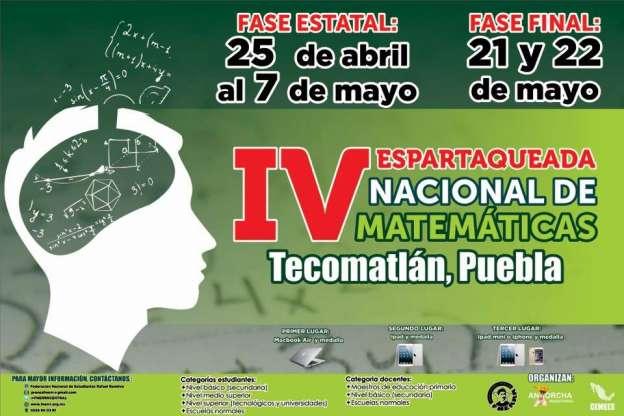 IV Espartuqueada Nacional de Matemáticas