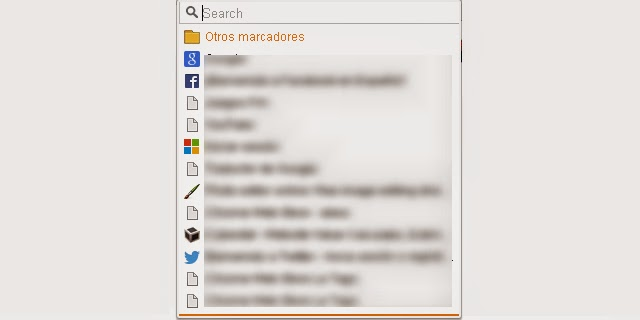 Popup My Bookmarks